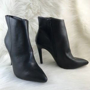 Candie's Black High Heel Ankle Boots